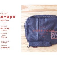 Vape Bag Coil Gear Authentic. Tas Vape. Coil Gear. Bova Bag. Vake Vape