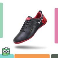 Sepatu Eagle Oscar Black Red – Futsal Shoes