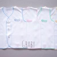baju newborn NOVA putih untuk jadi baju dalaman