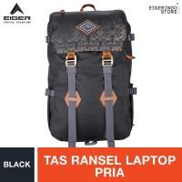 Eiger 1989 Pillars Borneo Laptop Backpack - Black # 2