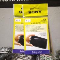 Screen Protector Anti Gores Sony A7 Pelindung layar Kamera