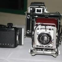 Kamera Kuno Sangat Unik dan antik GRAFLEX CENTURY GRAPHIC