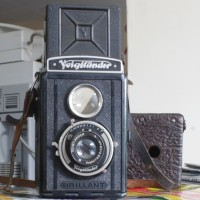 Kamera TLR Kuno dan Antik VOIGTLANDER Brilliant