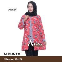 Blouse Batik Atasan Wanita Baju Kemeja Wanita Batik Pekalongan 12