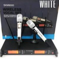 mic wireless sennheiser skm 9000 4 antena ( grade A ) white