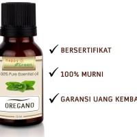 Happy Green Oregano Essential Oil (10 ml Minyak Essensial Oil Oregano