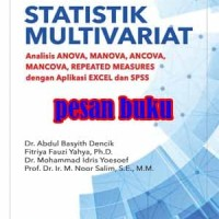 Buku Statistik Multivariat Analisis ANOVA MANOVA ANCOVA MANCOVA REPEAT