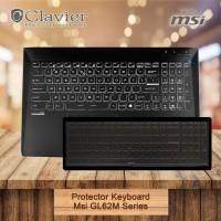 Keyboard Protector Cover Msi GL62M 7RC GL62M 7RDX GL62M 7REX Cooskin