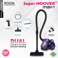 Bolde Super Hoover Vacuum Cleaner dan blower 2 in 1 Terbaru Max 1
