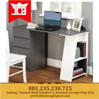 Meja Kerja kantor belajar modern minimalis Grey