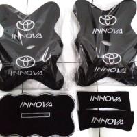 Toyota Kijang Innova bantal mobil bordir