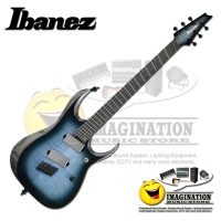 Ibanez Axion Label RGD61ALMS-CLL Guitar In Cerulean Blue Burst