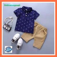 1 Setelan Baju Celana Import SAILOR Boys Anak Bayi Cowok Laki-Laki
