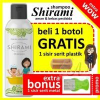Shirami Shampoo Anti Kutu | Shampoo Kutu | Obat Kutu | Pembasmi Kutu