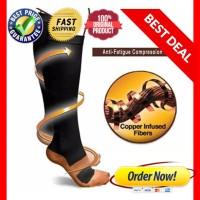Kaos kaki panjang anti lelah / angkle support / kaos kaki kompresi