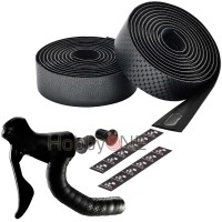 CICLOVATION Bar Tape Leather Touch - Fusion Series Metallic Gray