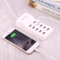 Charger 10 USB Ports multiports Charger samsung xiaomi apple 2.4A 2.1A