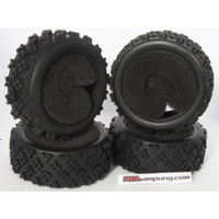 [21105] KFORCE ONE HOBBY 1/10 RC CAR RALLY TIRE ONLY (4PCS)