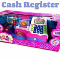Mainan Mesin Kasir Check Out Besar Mainan mesin kasir-kasiran