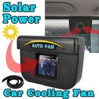 Car Cooling Fan - Auto Fan - Pendingin Mobil Saat Parkir Solar Power