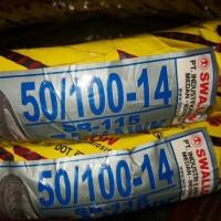 ban luar swalllow 1 paket 2 pcs ukuran 50-100-14