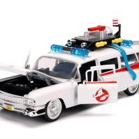 Jada Hollywood Rides 1/24 Ghostbuster ECTO-1
