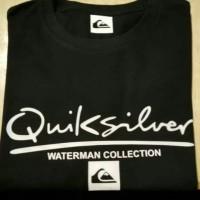 Atasan pria t-shirt kaos oblong Quik silver ok M L XL XXL keren murah