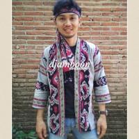 OUTER KIMONO PRIATENUN ETNIK P12/fashion pria/baju batik cowok casual