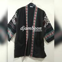 OUTER KIMONO TENUN P10// fashion pria//baju batik pria