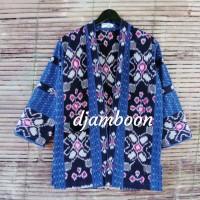 OUTER KIMONO TENUN ETNIK P11// fashion pria//baju batik pria
