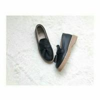 Phoebe Shoes Sepatu Wanita Docmart Flat Shoes Kulit Sintetis Murah