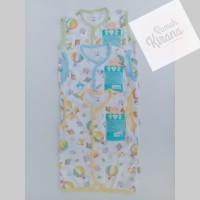 LIBBY Baju Kutung Kancing Depan Bayi Motif Balon - 6-9 Bulan