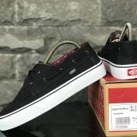 sepatu pria vans zapato DT/ICC 39-44 import black white