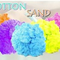 Mainan Edukasi Anak Cotton Sand Slime Pasir Ajaib Cotton Magic Sand