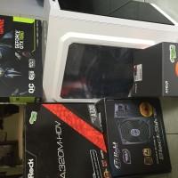 PC Rakitan Gaming High Ryzen 3 ASUS GTX 1060 6GB Strix Garansi Resmi