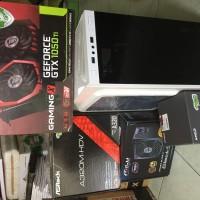 PC Rakitan Gaming Ryzen 3 MSI GTX 1050 Ti Gaming X Garansi Resmi Indo