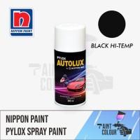 Pylox Anti Panas BLACK/HITAM HI TEMP 600c Semprot/Pylox/Motor/Kenalpot