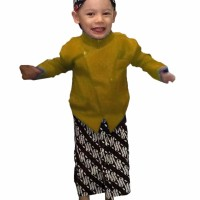 Setelan Anak Beskap Baju Tradisional Jawa Kostum Kartinian Kece