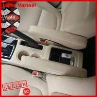 Dudukan Armrest Jok Kulit Microfibre Custom Mobil Agya Xenia Avanza