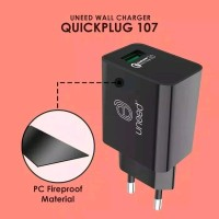 UCH107-UNEED Quick Plug Wall Charger Qualcomm Quick Charger 3.0A