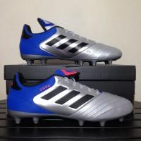 Sepatu Bola Adidas Copa 18.3 FG Silver Blue DB2463
