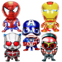 Balon Foil Falcon / Balon Karakter Avenger / Balon Foil Avengers