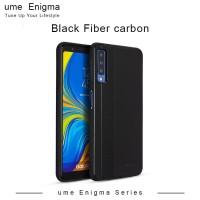 UME ENIGMA Samsung Galaxy J2 Core Black Soft Jacket Fiber Carbon