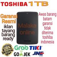 TOSHIBA Canvio Basic 1TB / HARDISK eksternal /external harddrive