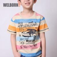 Welborn Kids Kaos Oblong Coklat Mobil Anak Laki - 8