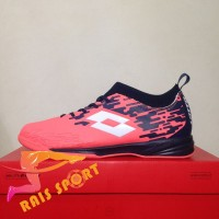 Promo Sepatu Futsal Lotto Veloce IN Bright Peach L01040002 Original