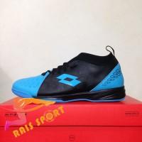 Grosir Sepatu Futsal Lotto Energia IN Ocean Blue Black L01040007