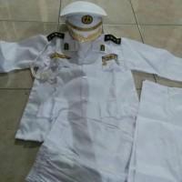 Seragam Anak Jenderal TNI AL ukuran 9 - 10 l Baju Karnaval l Kostum