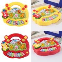 Mainan Anak Piano Animal Mainan Bayi - Warna Random
