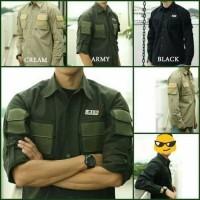 Baju Pria - Baju Kemeja PDL Tactical - Baju Lapangan - Kemeja Lapangan